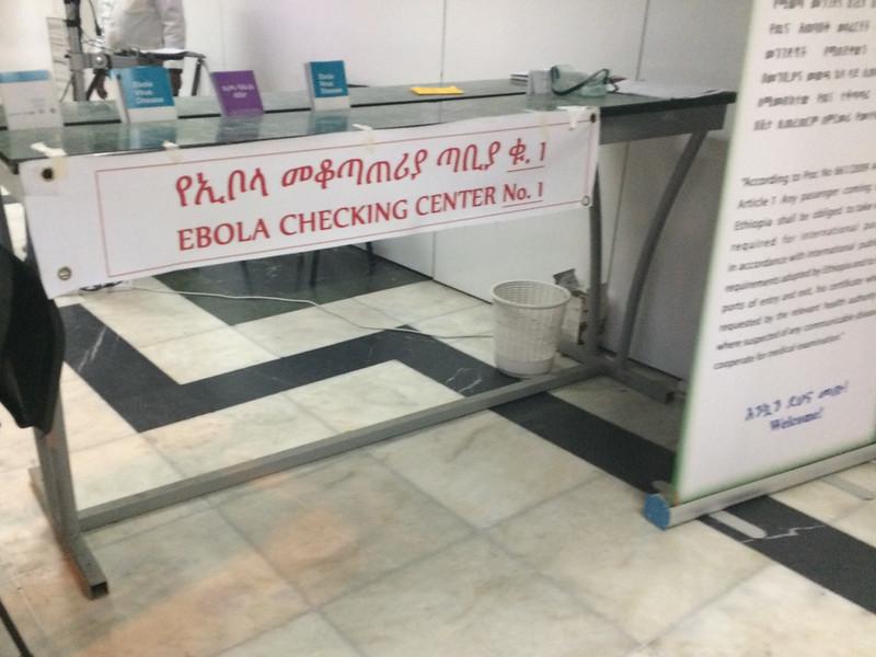 No ebola!