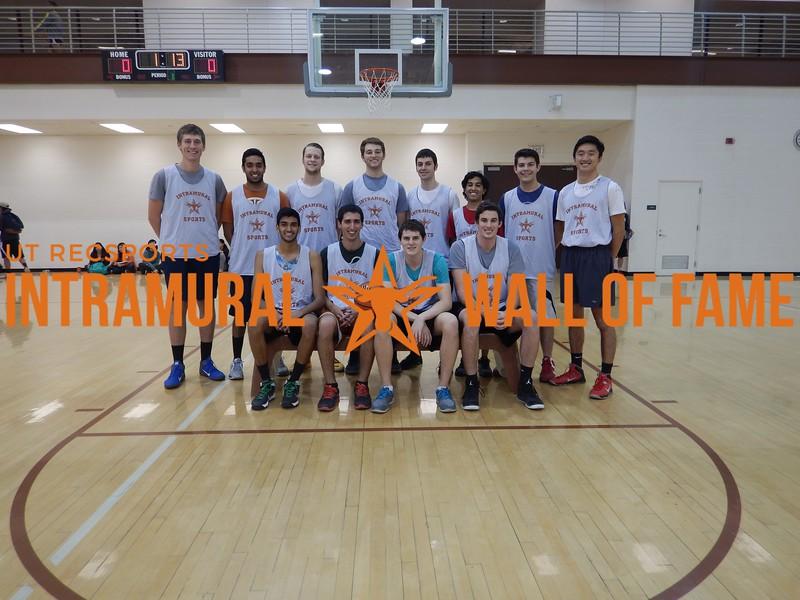 Fall 2015  Basketball Men's C Runner Up Wang Microbrewery