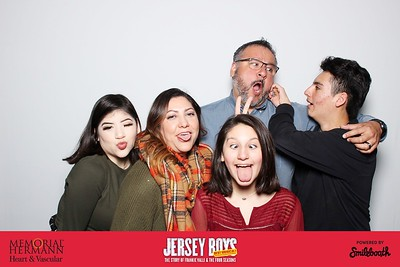 memorial hermann heart & vascular presents smilebooth at jersey boys | day 1