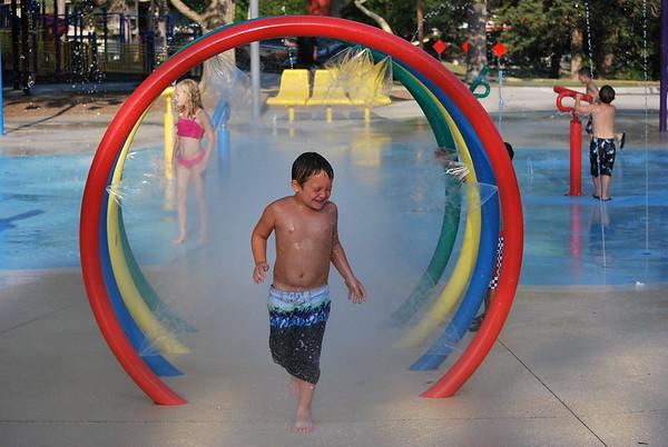 2012-07 Jr at Splash Park & Playground