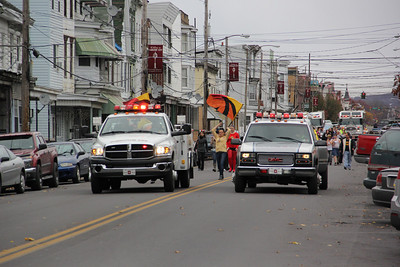 Halloween Parade, Mahanoy City (10-28-2012)