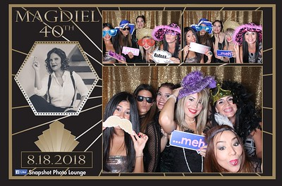 Magdiel's 40th Birthday - August 18th, 2018