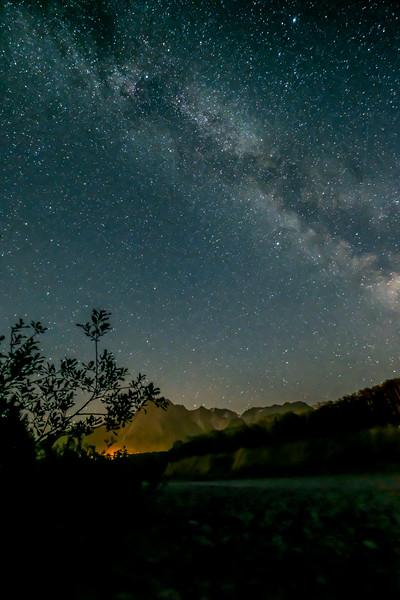 Hazelton Night Sky