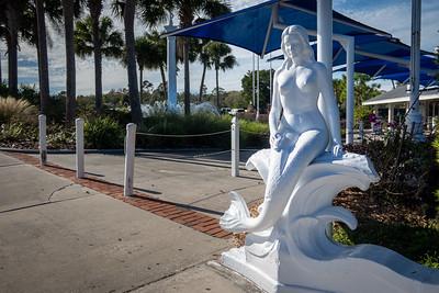 Weeki Wachee Springs State Park Mermaid Statue