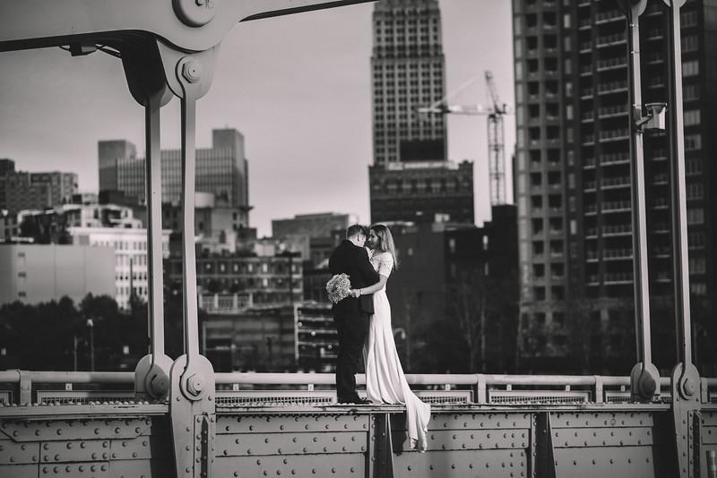 Pittsburgh Elopement Photographer - Monaco Bridge Downtown - Hadley-292.jpg