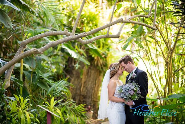 Jeff + Emiko | Botanical Gardens Wedding | Crossings Carlsbad Wedding