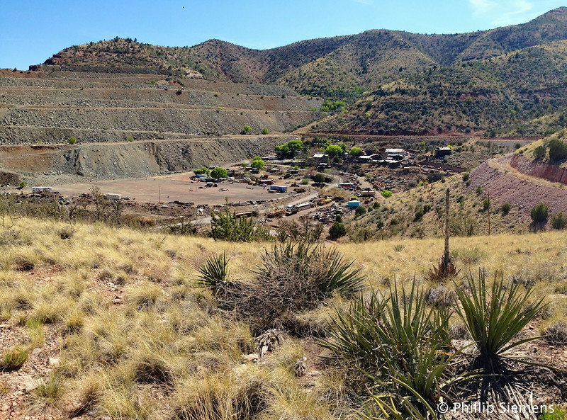 Mining in Jerome, AZ