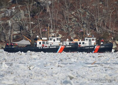 Ice Breaking Ops on the CT River 1/19/2018
