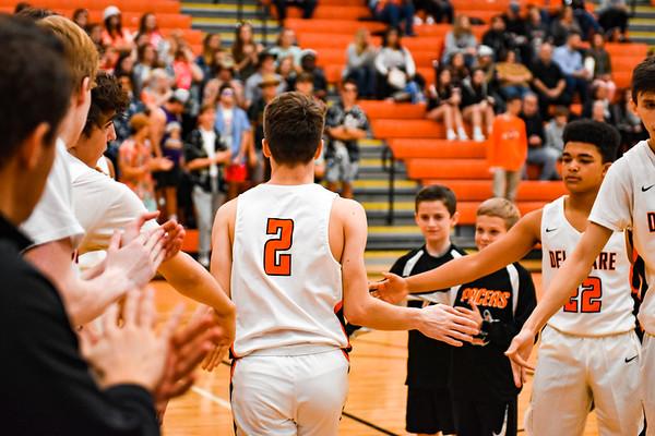 Hayes Basketball 01-03-20