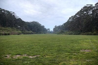 The Length of Golden Gate Park