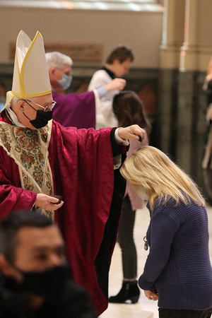 Ash Wednesday at the Cathedral 2021