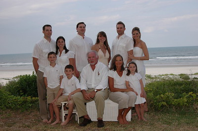 The Lawless Family.Crescent Beach,Florida.           May 2009