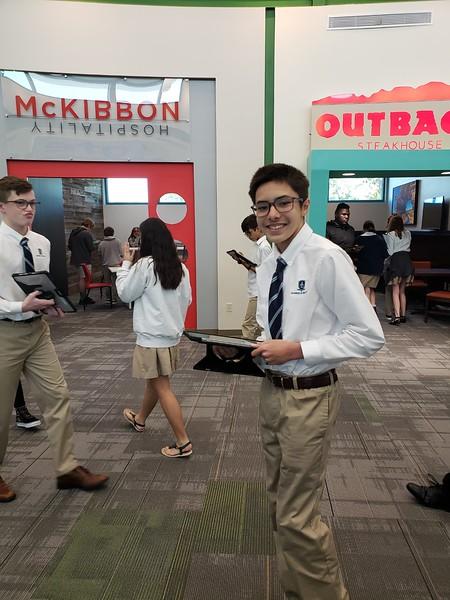 8th Grade JA Finance Trip 2020