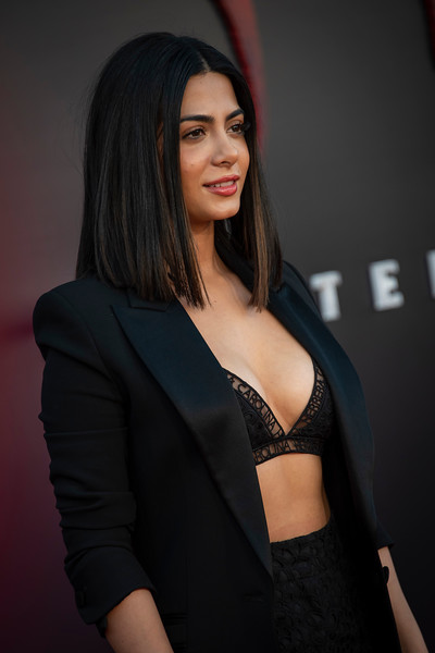 "WESTWOOD, CA - AUGUST 26: Emeraude Toubia attends the Premiere Of Warner Bros. Pictures' ""It Chapter Two"" at Regency Village Theatre on Monday, August 26, 2019 in Westwood, California. (Photo by Tom Sorensen/Moovieboy Pictures)"