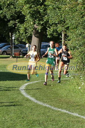 Girls JV 0.5 Mile mark - 2014 Budd Cicciarelli Adams Invitational