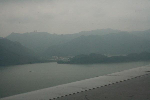 Heading to Hong Kong - 22/23 February 2007