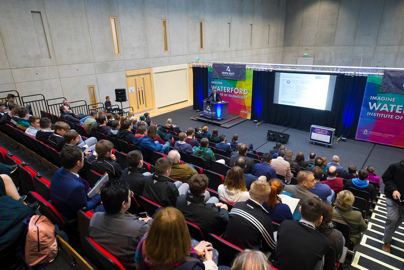 09/11/2017. Crystal Valley Tech Showcase at WIT Arena. Pictured are . Picture: Patrick Browne