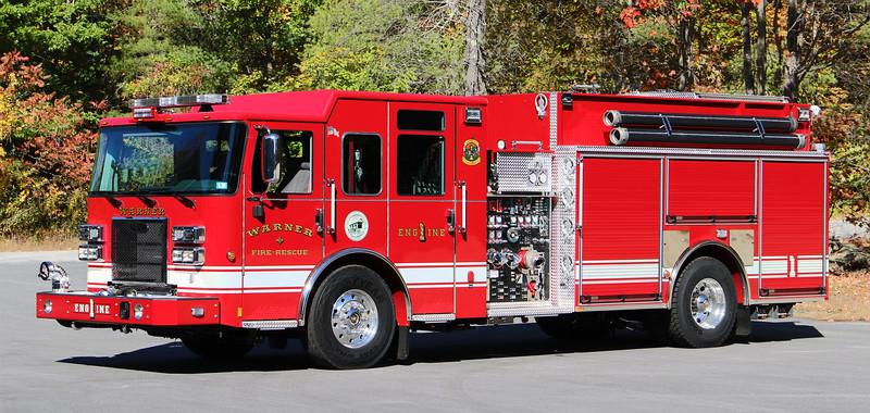 Engine 1.  2020 Pierce Enforcer   1500 / 1000