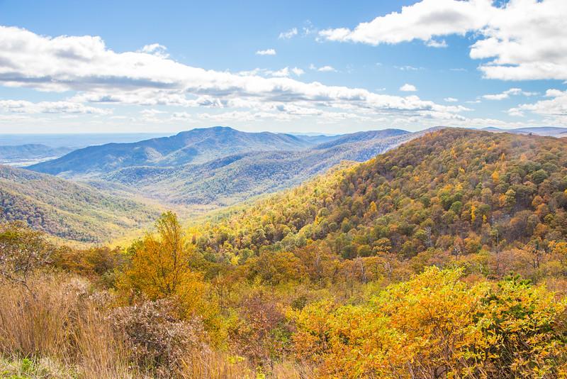 Blue Ridge Mountains - Shenandoah