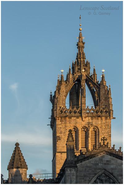 Saint Giles High Kirk crown spire 1