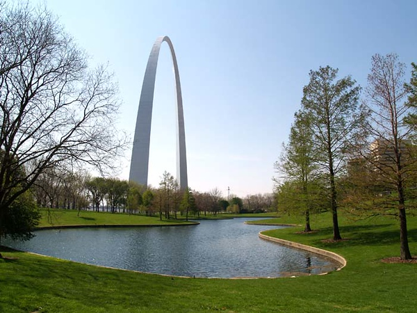 ST LOUIS GATEWAY ARCH Jefferson National Expansion Memorial (NPS), St Louis, Missouri