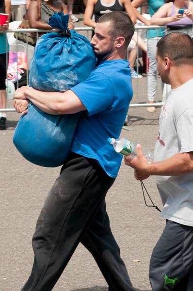 Sandbag Carry