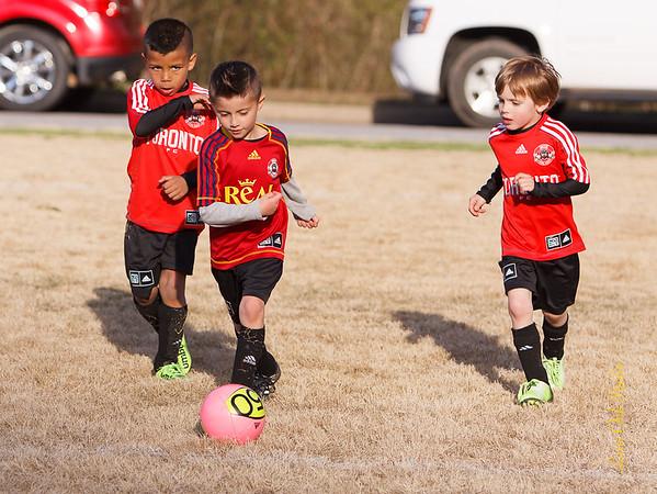 2015 6U Soccer Spring