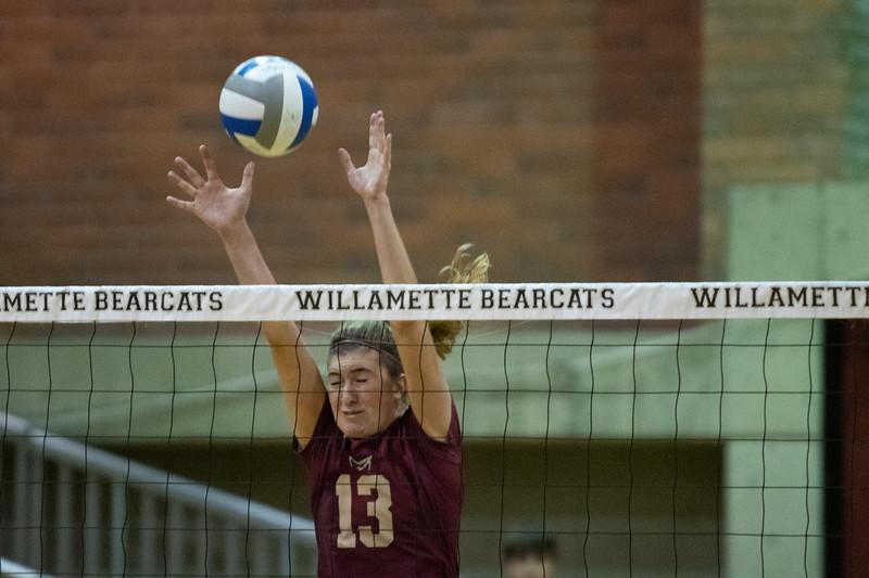 Willamette Bearcats vs George Fox Bruins