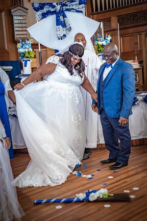 Dionne & Emmanuel Wedding Aug 14 2021