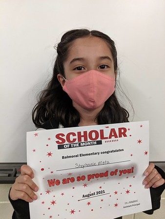 Scholar of the Month August 2021