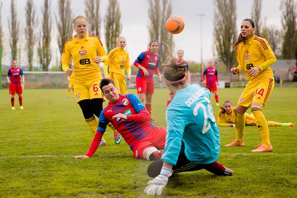 Ženy: Plzeň - Dukla 0:1