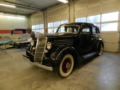 1935 Ford Four Door Sedan - For Sale