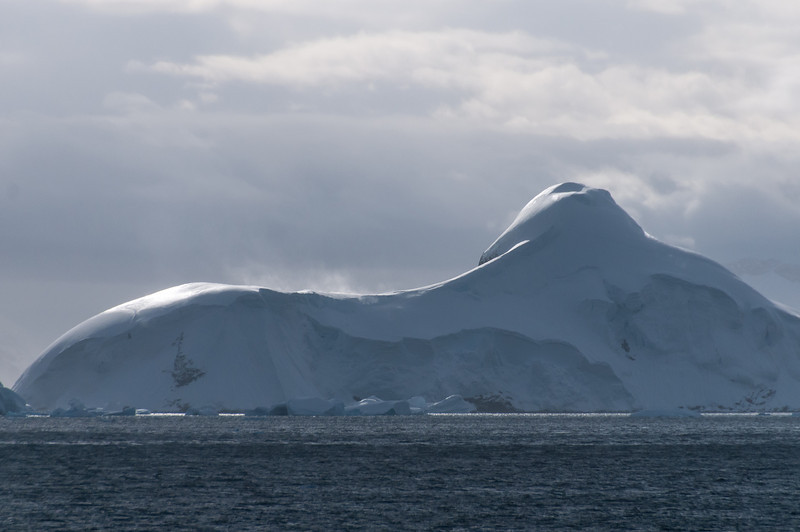 Iceberg in the Lemaire Channel, Antarctica