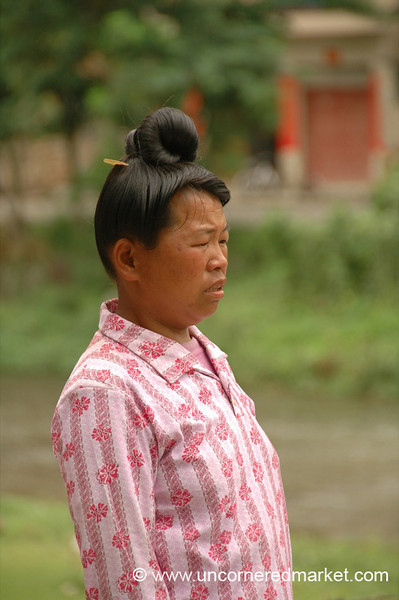 Miao Woman - Guizhou Province, China