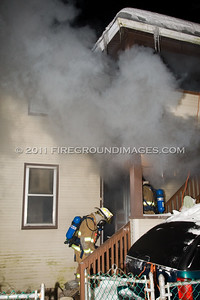 Bridgeport Ave. Fire (Shelton, CT) 2/1/11