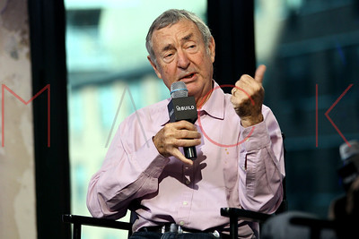 """NEW YORK, NY - NOVEMBER 16:  Nick Mason visits AOL Build Series to Discuss Pink Floyd's """"The Early Years Box Set: 1965-1972"""" at AOL HQ on November 16, 2016 in New York City."""