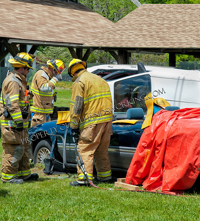 Brooklyn, CT Fire Department Extrication Demonstration