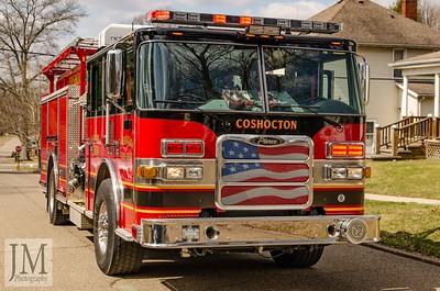 03-17-19 Coshocton FD - Chimney Fire