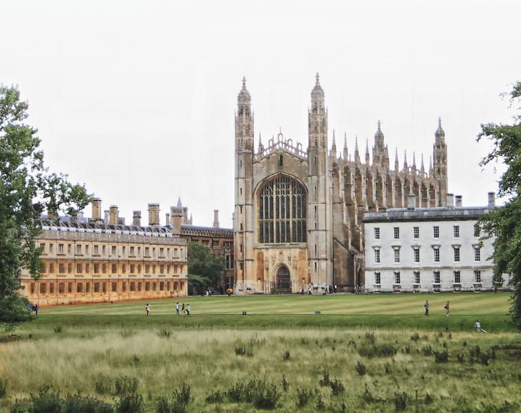 King's College Chapel (and fellows' halls), Cambridge, UK