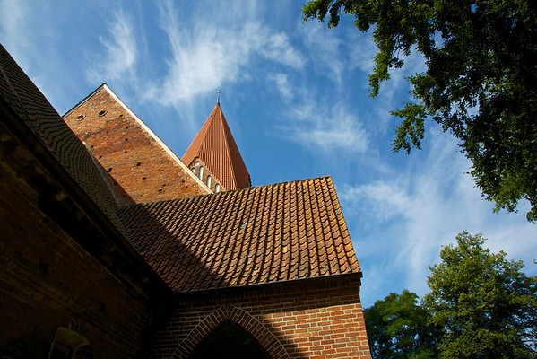Dorfkirchen in Mecklenburg
