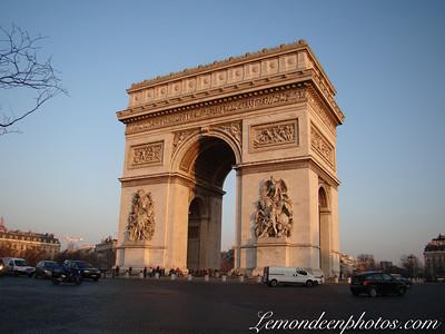 Les Champs Elysées-Arc de Triomphe