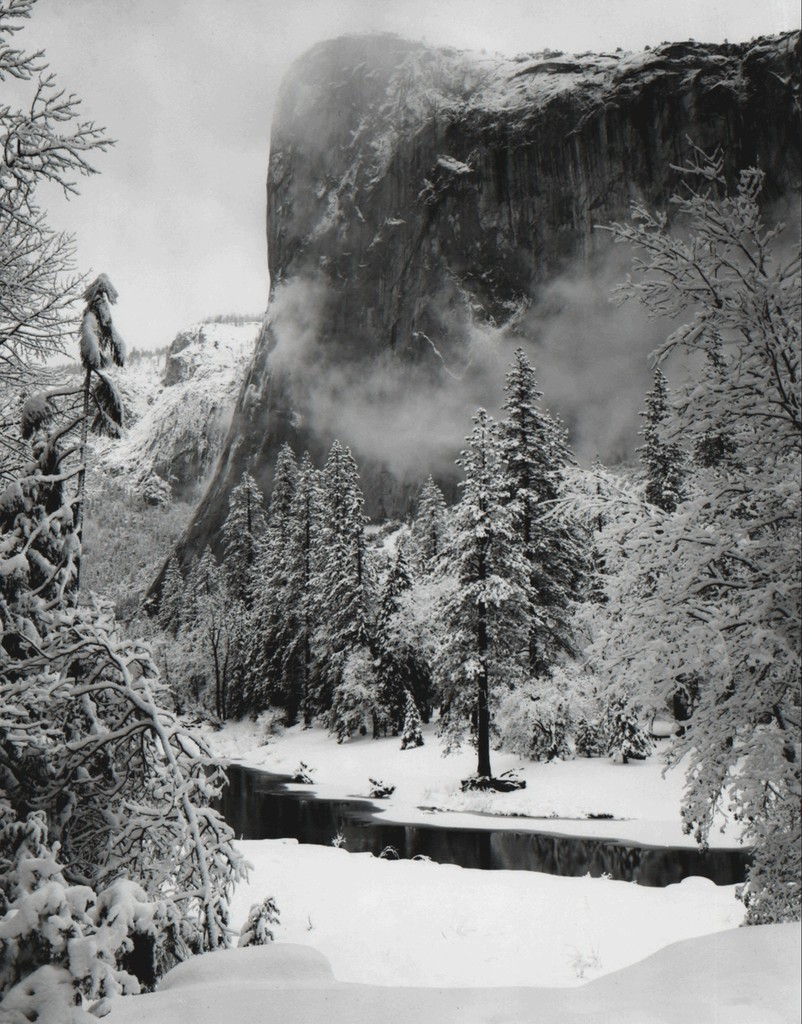 El Capitan, Winter. ©Ansel Adams