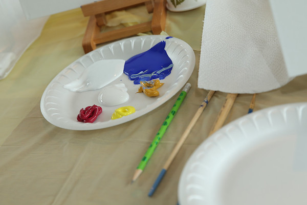 Adelphi Spirit Weekend | Paint and Pour
