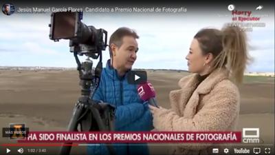 Televisión Castilla la Mancha - Entrevista a Jesús M. García Flores - Fotógrafo del año 2017