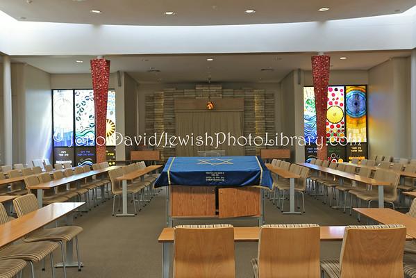 SOUTH AFRICA, KwaZulu-Natal, Durban. Umhlanga Jewish Centre Synagogue (3.2013)