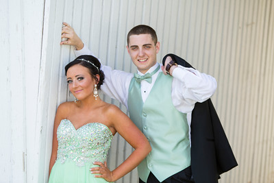 Natalie & Jeff Prom Portraits -- May 9, 2015
