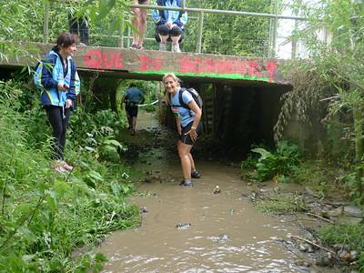 Trail Coteaux de l'AA avril 2011