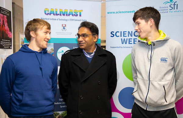 FREE TO USE IMAGE. Pictured during Science Week with WIT (Waterford Institute of Technology) by Calmast at Sasi Balasubramaniam presentation Vista Milk. Picture: Patrick Browne