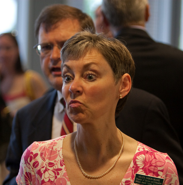 Day 3 - Helen Damon-Moore at  Multifaith Reception