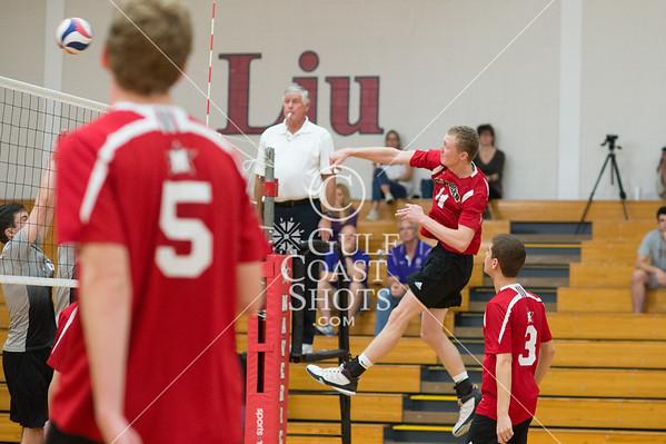 2015-10-10 Volleyball Boys St. Mary's Hall vs St. John's
